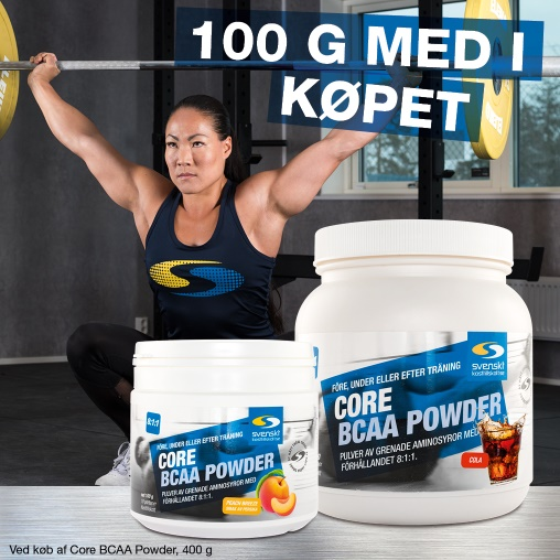 Core BCAA Powder 400 g + 100 g på köpet